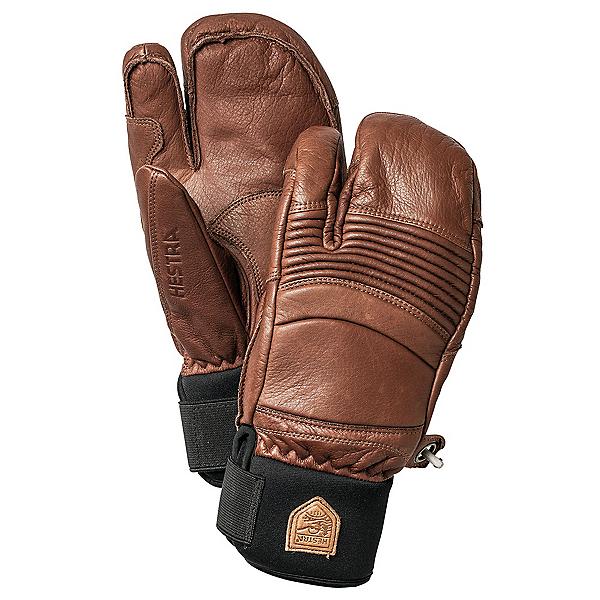 Hestra Fall Line 3 Finger Gloves 2019, Brown, 600