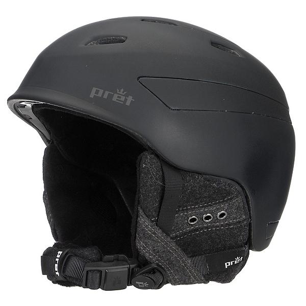Pret Facet Womens Helmet, Rubber Pearl Black, 600