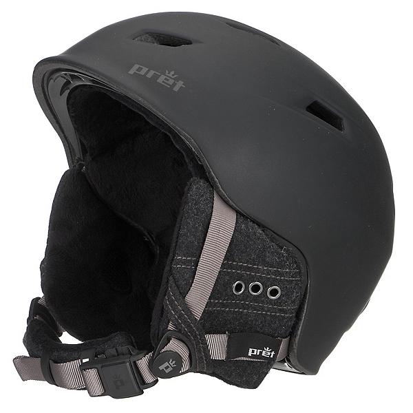 Pret Luxe Womens Helmet, Pearl Black, 600