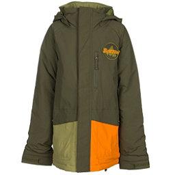 Burton Phase Boys Snowboard Jacket, Algae Block, 256