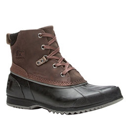 Sorel Ankeny Mens Boots, Cordovan-Madder Brown, 256