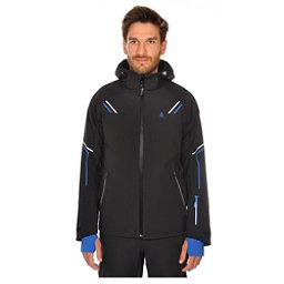 Volkl Black Jack Mens Insulated Ski Jacket, Black, 256