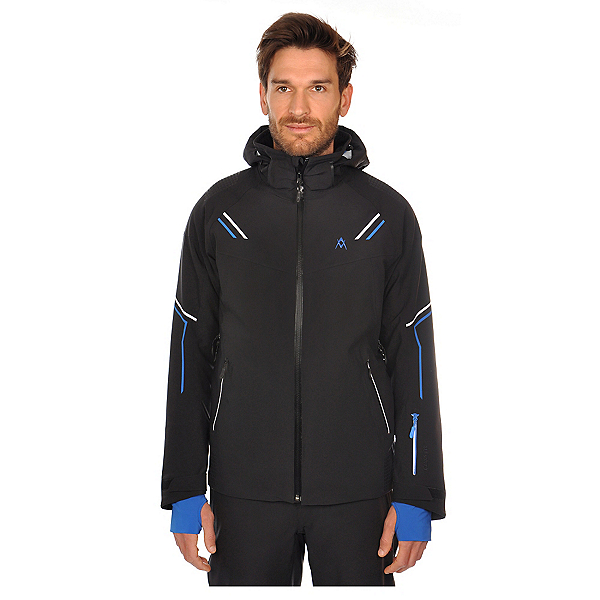 Volkl Black Jack Mens Insulated Ski Jacket, , 600