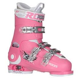Roces Idea Free G Girls Ski Boots, Deep Pink, 256