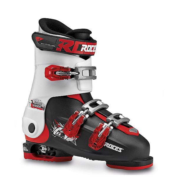 Roces Idea Free Kids Ski Boots, Black-White-Red, 600