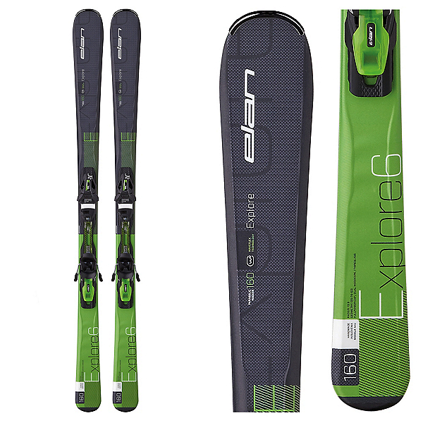 Elan Explore 6 Skis with EL 10.0 QT Bindings, , 600
