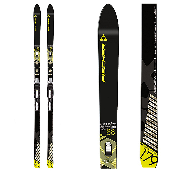 Fischer Excursion 88 Crown Cross Country Skis, , 600