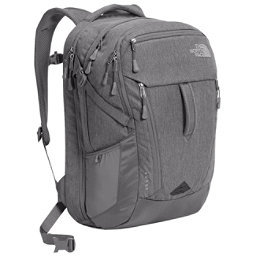The North Face Surge Backpack, TNF Medium Grey Heather-Zinc G, 256