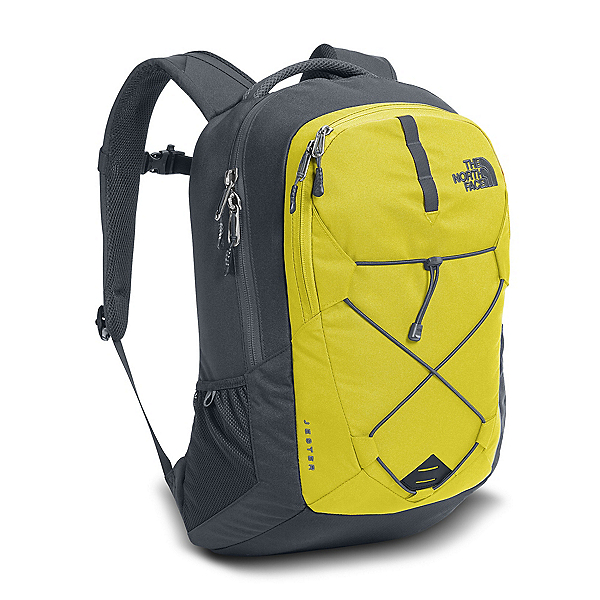 The North Face Jester Backpack (Previous Season), Acid Yellow-Turbulence Grey, 600