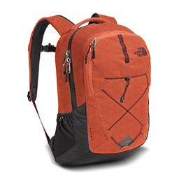 The North Face Jester Backpack, Ketchup Red Emboss-Asphalt Gre, 256