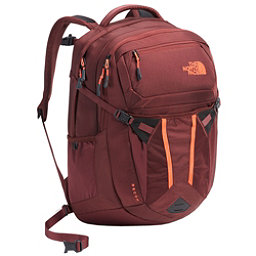 The North Face Recon Womens Backpack, Barolo Red-Nasturtium Orange, 256