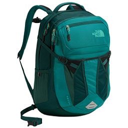 The North Face Recon Womens Backpack, Harbor Blue-Atlantic Deep Blue, 256