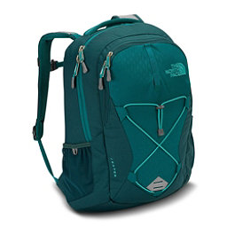 The North Face Jester Womens Backpack, Harbor Blue Emboss-Atlantic De, 256