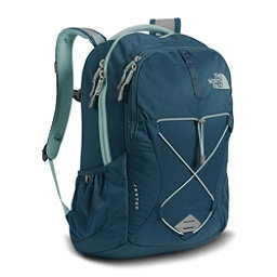 The North Face Jester Womens Backpack, Monterey Blue-Tourmaline Blue, 256