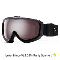Smith Prophecy Turbo Fan OTG Goggles, Black-Ignitor Mirror, 256