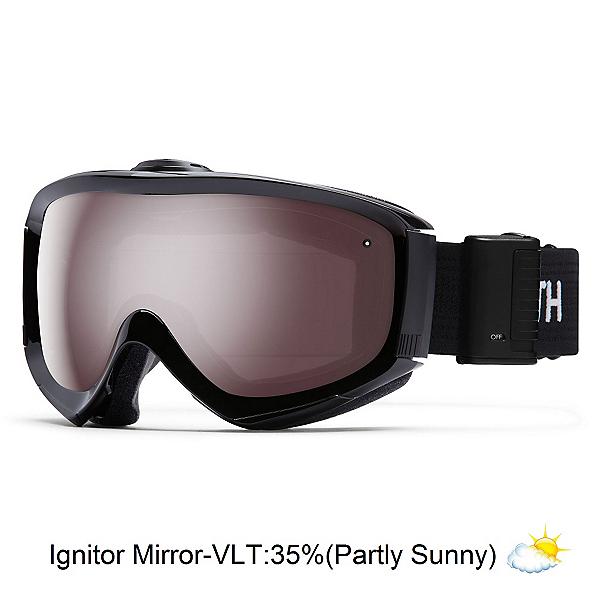 Smith Prophecy Turbo Fan OTG Goggles, Black-Ignitor Mirror, 600