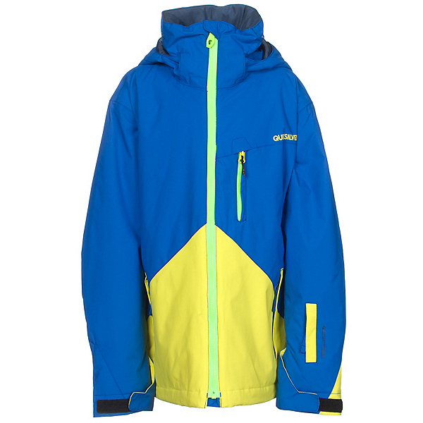 c6ddfbd50 Quiksilver Mission Color Block Boys Snowboard Jacket 2016