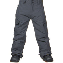 Quiksilver Mission Kids Snowboard Pants, Iron Gate, 256