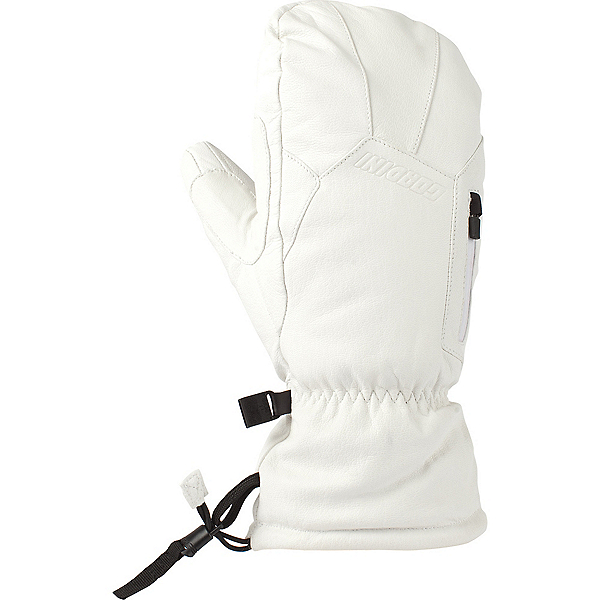Gordini The Leather Goose III Womens Mittens, White, 600