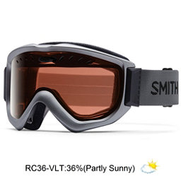 Smith Knowledge OTG Goggles, Graphite-Red Sensor Mirror, 256