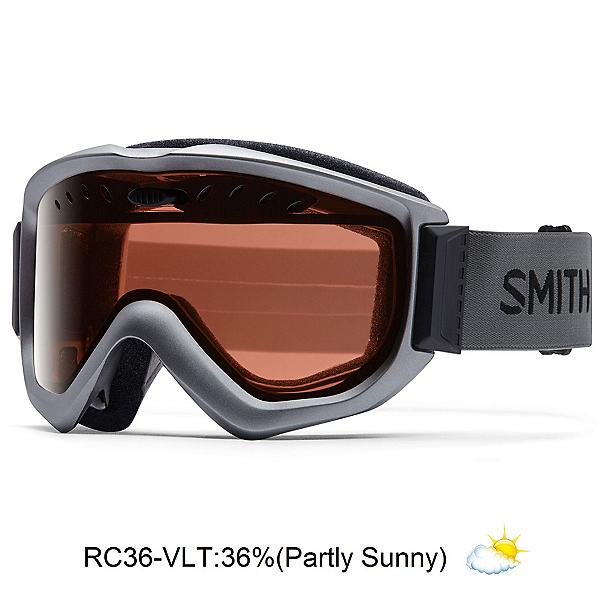 Smith Knowledge OTG Goggles, Graphite-Red Sensor Mirror, 600