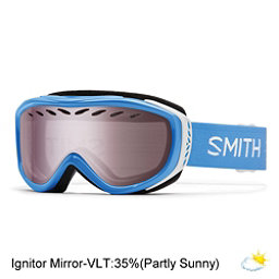 Smith Transit Womens Goggles, French Blue Static-Ignitor Mir, 256