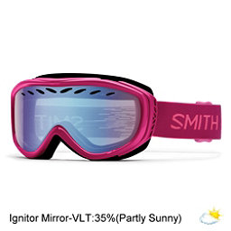 Smith Transit Womens Goggles, Fuchsia Static-Blue Sensor Mir, 256