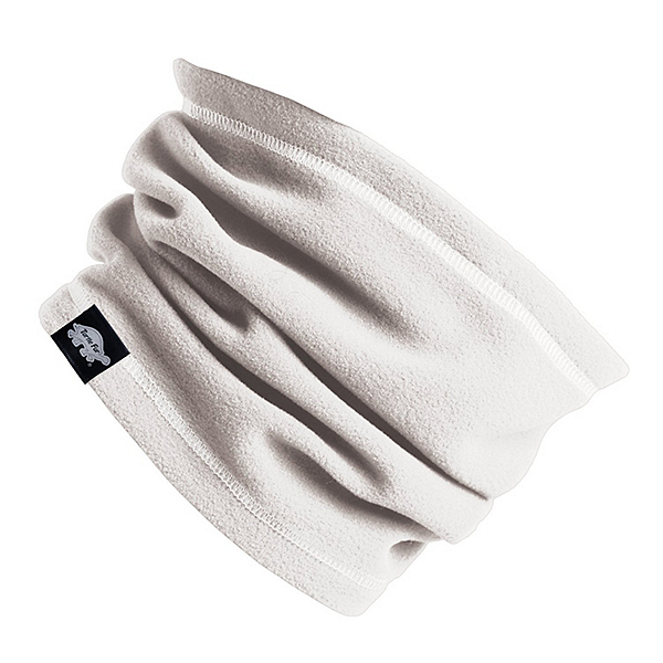 Turtle Fur Micro Fur Single Layer Neck Warmer, White, 600