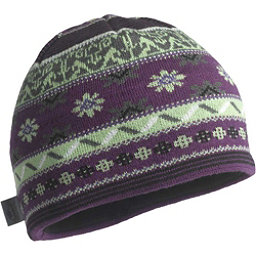 Turtle Fur Saami Knit Beanie, Plum, 256