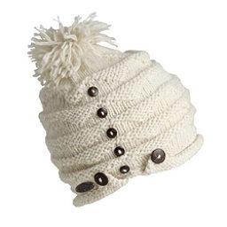 Turtle Fur Acorn Knit Pom Hat, White, 256