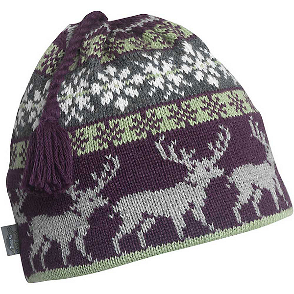 Turtle Fur Reindeer Games Beanie, Raisin, 600