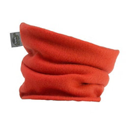 Turtle Fur Turtles Kids Neck Warmer, Flame Orange, 256