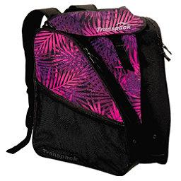 Transpack XTW Ski Boot Bag 2017, Pink-Purple-Black Palm, 256