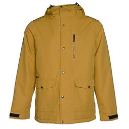 Armada Norwood Mens Insulated Ski Jacket, Mustard, 256