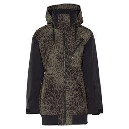 Armada Gypsum Womens Hoodie Jacket, Jungle Cat, 256