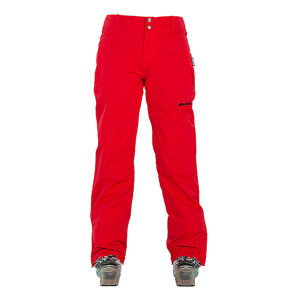 Armada Lenox Womens Ski Pants, Red, 600