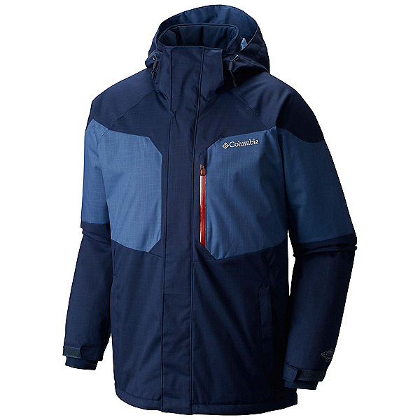 Columbia Alpine Action Big Mens Insulated Ski Jacket, Collegiate Navy-Night Tide, 600
