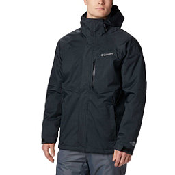 Columbia Alpine Action Tall Mens Insulated Ski Jacket, Black, 256