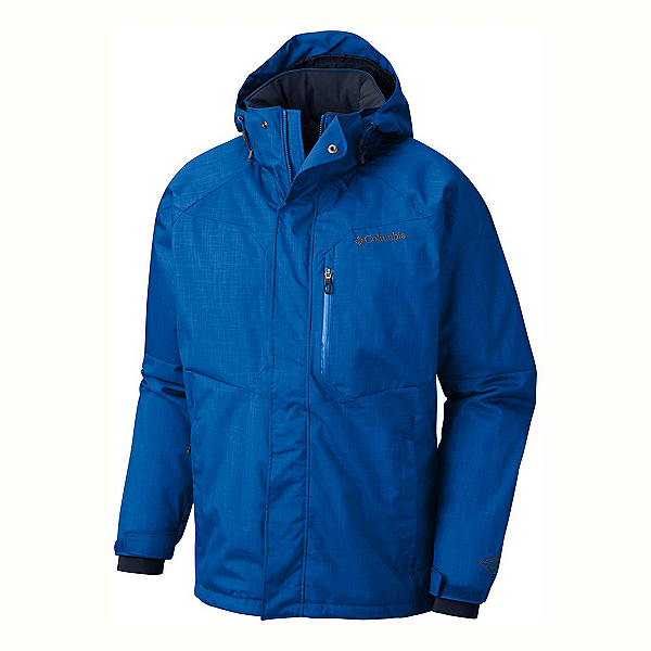 Columbia Alpine Action Tall Mens Insulated Ski Jacket, Super Blue, 600