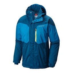 Columbia Alpine Action Tall Mens Insulated Ski Jacket, Dark Compass-Phoenix Blue, 256