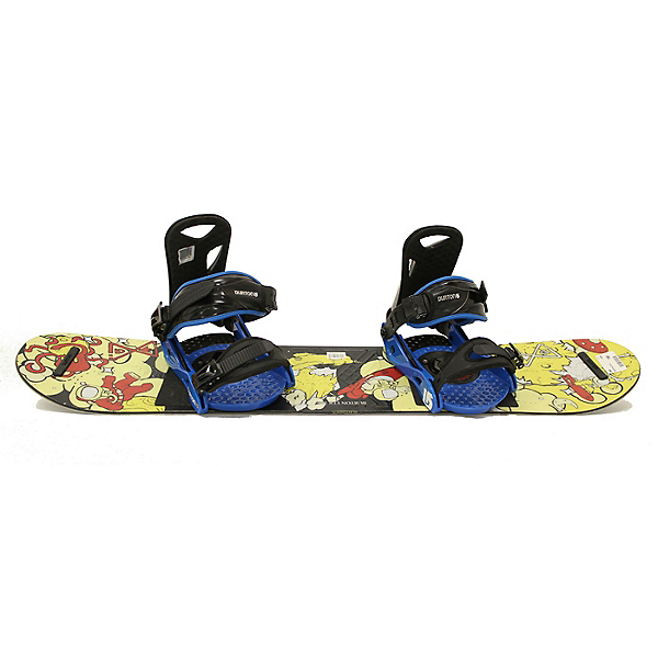 Used Nice 2016 Burton LTR JR Snowboard + Quick Release Bindings A Condition, , 600