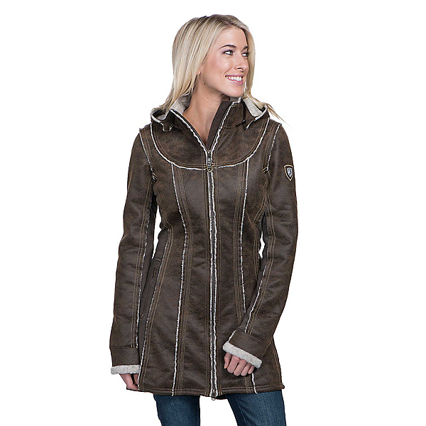 KUHL Dani Sherpa Womens Jacket, Oak, 600