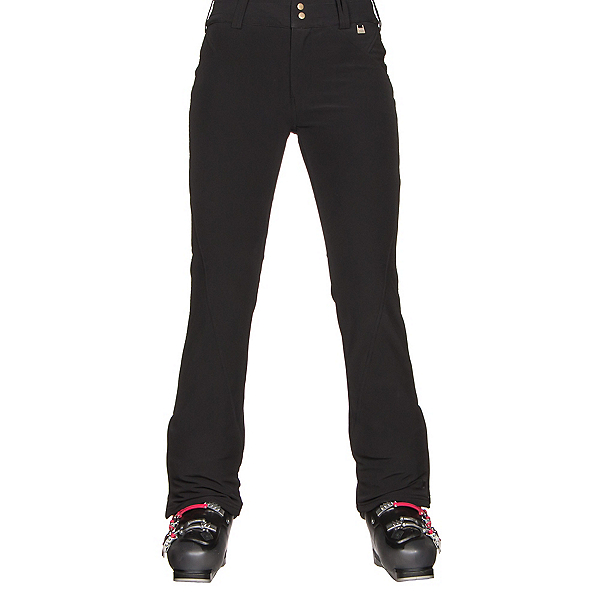 NILS Betty Short Womens Ski Pants, Black, 600