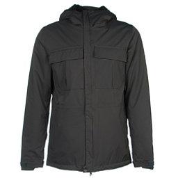 686 Authentic Moniker Mens Insulated Snowboard Jacket, Gunmetal Herringbone, 256
