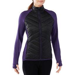 SmartWool Corbet 120 Womens Jacket, Black-Mountain Purple, 256