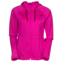 The North Face Castle Crag Womens Hoodie (Previous Season), Luminous Pink Stripe-Luminous, 256