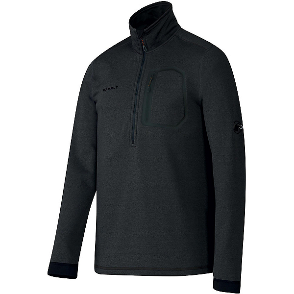 Mammut Runbold Half Zip Mens Mid Layer, Graphite, 600