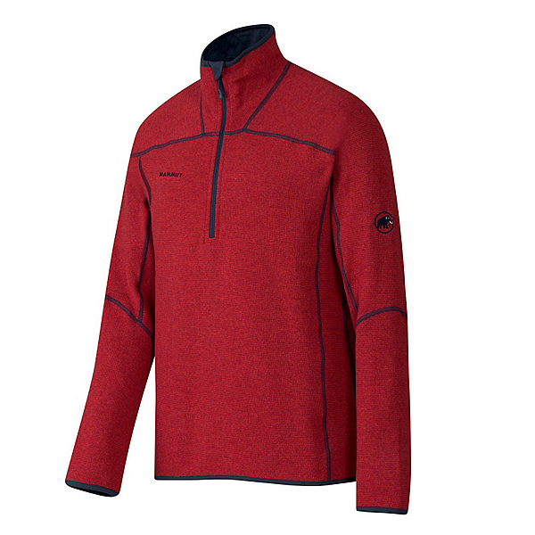 Mammut Phase Zip Pull Mens Mid Layer, , 600