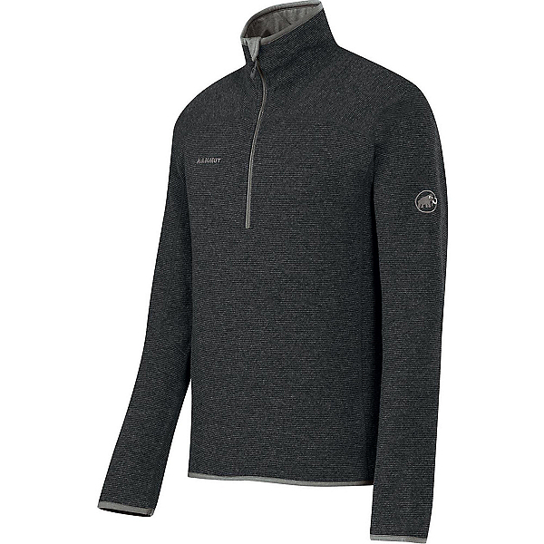 Mammut Phase Zip Pull Mens Mid Layer, Graphite, 600
