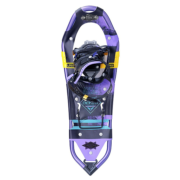 Atlas Elektra Treeline Snowshoes, Black-Purple, 600